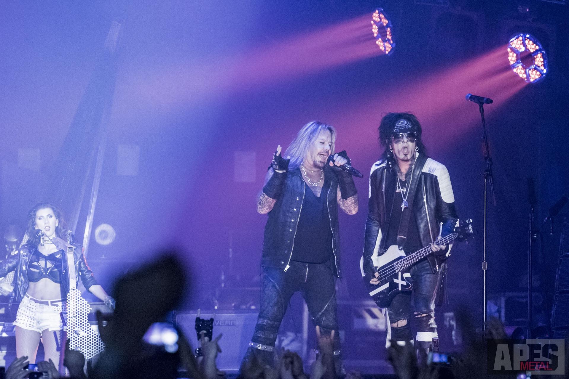Mötley Crüe - The Final Tour 2015 in München - APES METAL