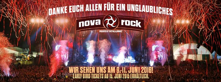 Nova Rock Says Thank You Date 2016 9 11 June Apes Metal