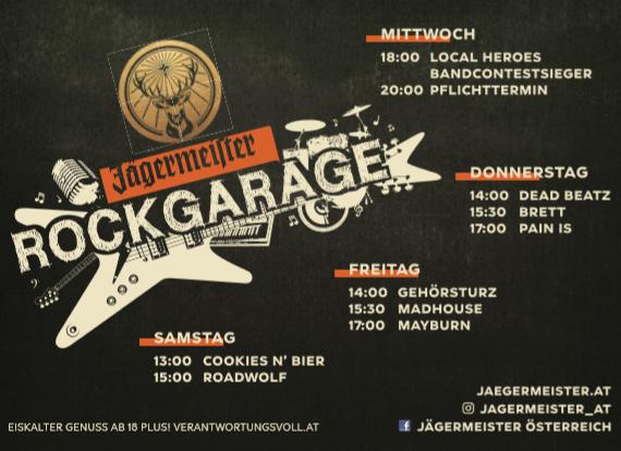 Nova Rock 2019 - Jägermeister Rockgarage