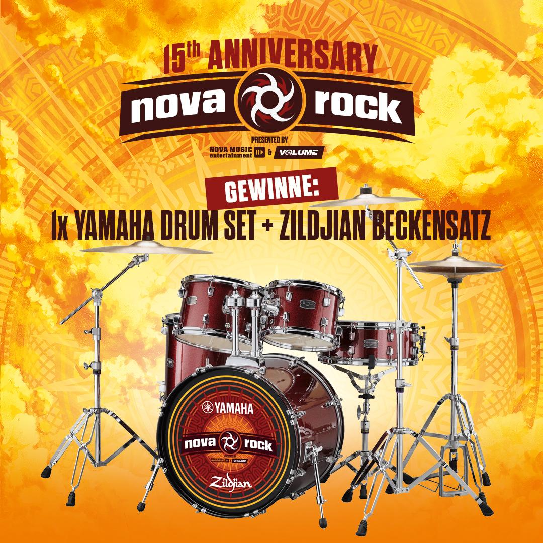 Nova Rock 2019 - Jubiläumsgewinnspiel